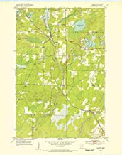 YellowMaps Alborn MN topo map, 1:24000 Scale, 7.5 X 7.5 Minute, Historical, 1953, Updated 1955, 27.23 x 21.53 in