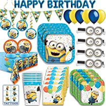 Lot of 16 yellow creatures Minions Blowouts Party Favors