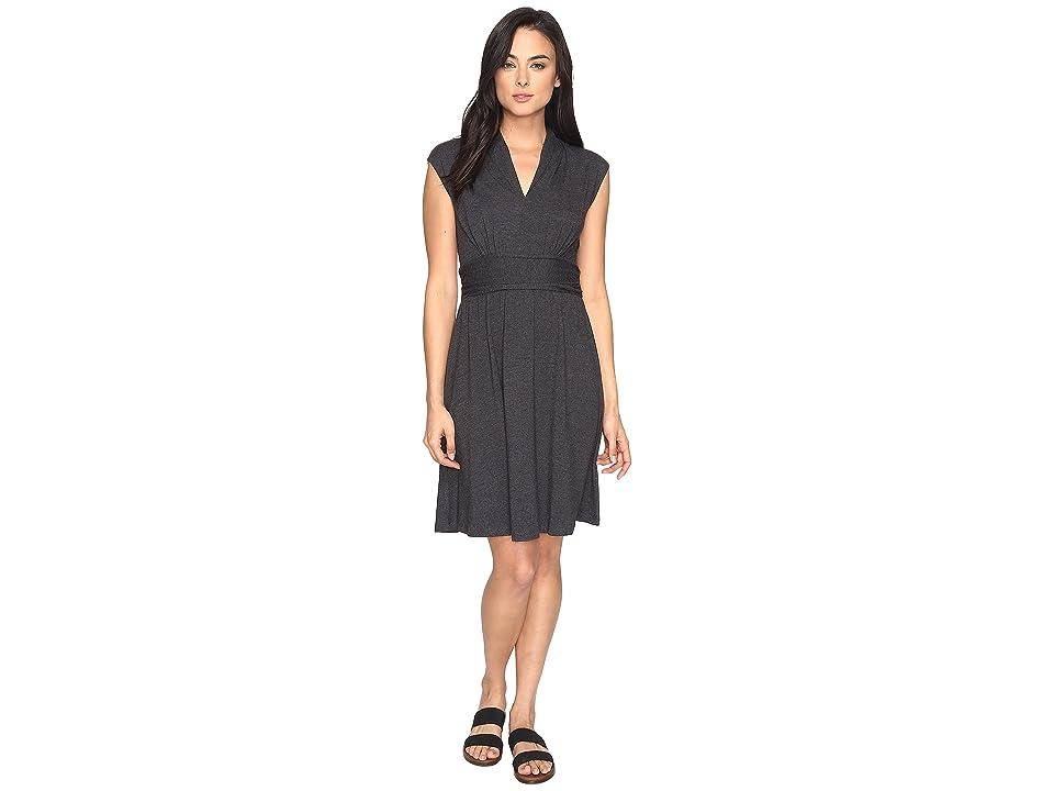 Prana Berry Dress (Black) Women