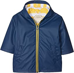 Hatley Kids Navy & Yellow Splash Jacket (Toddler/Little Kids/Big Kids)