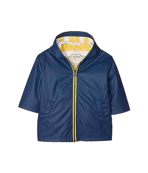 7a171cc9745a Hatley Kids Navy   Yellow Splash Jacket (Toddler Little Kids Big ...