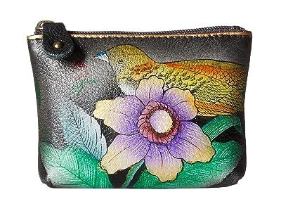 Anuschka Handbags 1031 Coin Pouch (Vintage Bouquet) Handbags