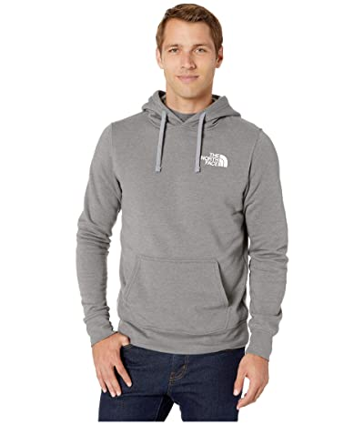 The North Face Red Box Pullover Hoodie (TNF Medium Grey Heather/TNF Red) Men