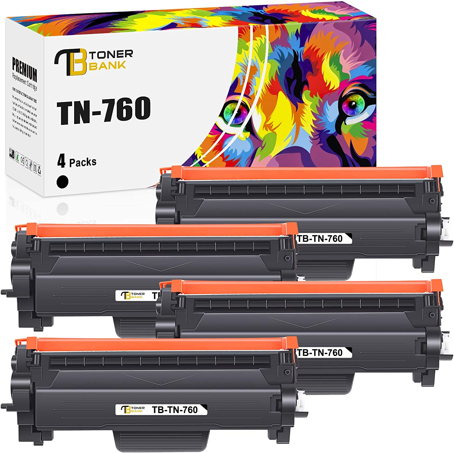 Regular dealer Toner Bank Compatible Cartridge Max 61% OFF for TN Brother Replacement