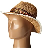 Echo Design - Crocheted Straw Hat