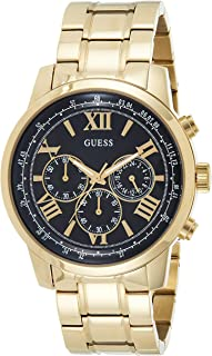 Guess Mens Quartz Watch, Chronograph Display and Stainless Steel Strap W0379G4