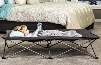 Regalo My Cot Extra Long Portable Bed, Gray, Includes Fitted Sheet and Travel Case 9 Pounds
