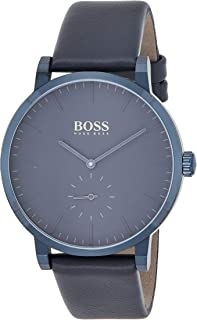 Hugo BOSS Mens Analogue Classic Quartz Watch with Leather Strap 1513502