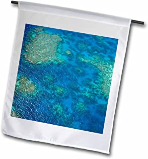 "3dRose fl_133396_2""Great Barrier Reef, Ocean, Queensland, Australia - Miva Stock Garden Flag, 18 x 27"