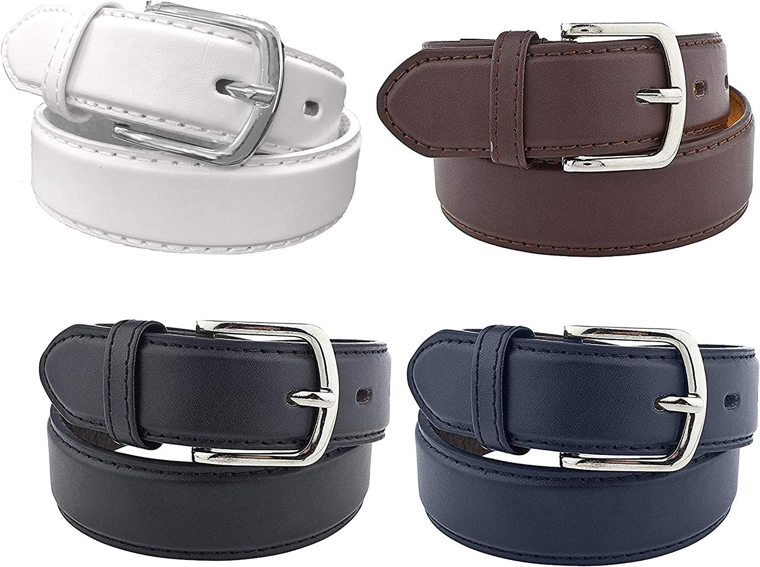 4 Pack Kids Faux Leather 1