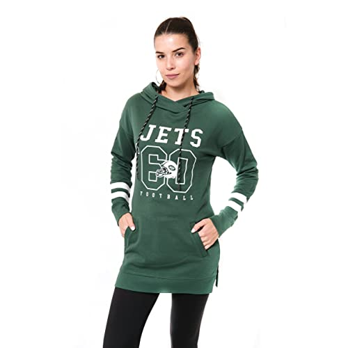 NFL New York Jets Ultra Game Womens MESH RACERBACK TANK Team Color Small