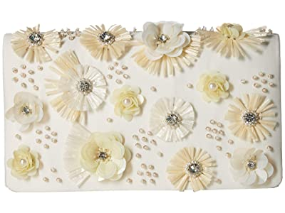 Adrianna Papell Nile (Champagne/White) Clutch Handbags