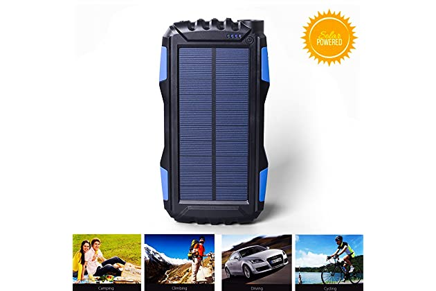 low priced f287f 8bd06 Best solar waterproof battery chargers for iphone | Amazon.com
