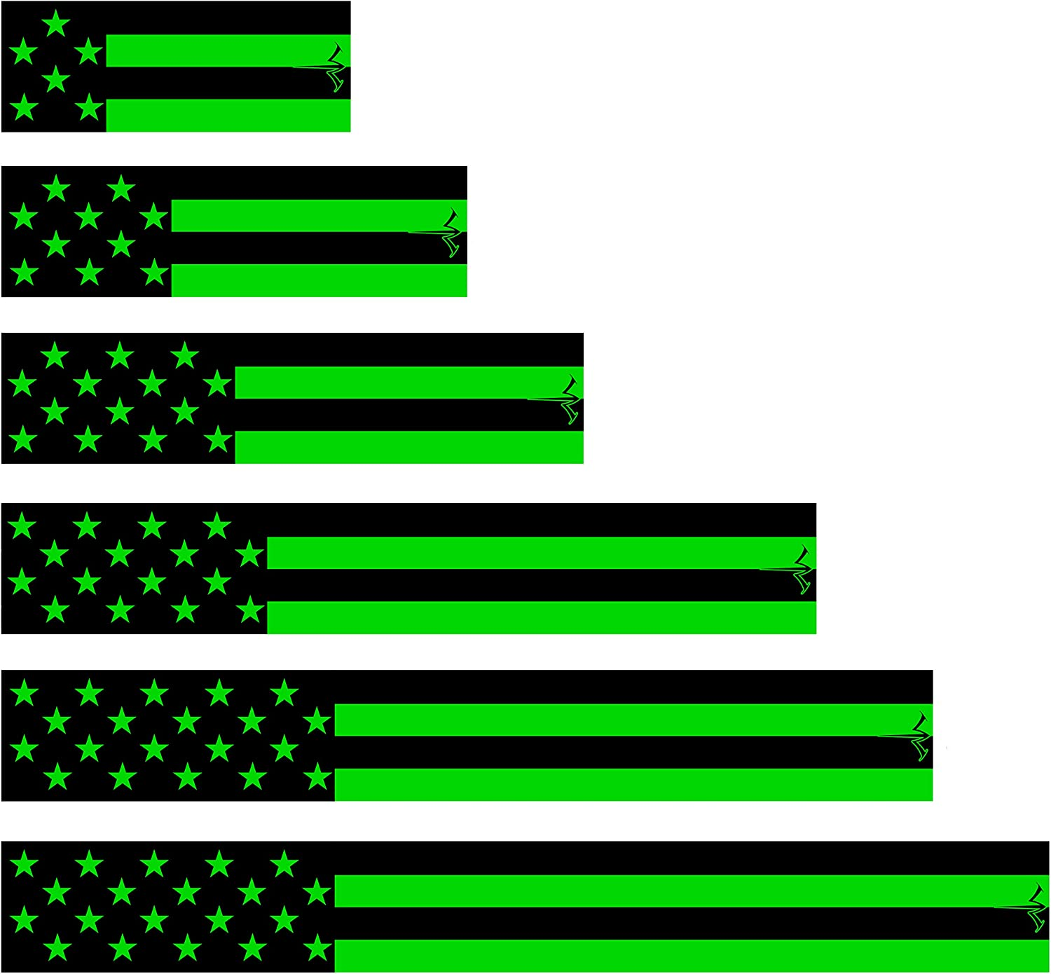 Ranking Latest item TOP10 White Water Archery Fluorescent Neon USA Arr Flag American Green