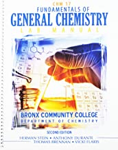 Fundamentals of General Chemistry: Lab Manual, Bronx Community College: Department of Chemistry