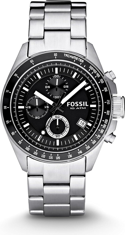 Fossil Men's Decker Chronograph Stainless Steel Watch