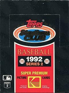 1992 stadium club baseball cards