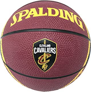 Game Master NBA Cleveland Cavaliers Mini Basketball, 7-inches MBRB3 3003, Maroon, Size 7