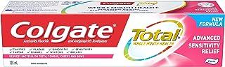 Colgate TOTAL ADVANCED Sensitive Toothpaste, 120 Milliliters