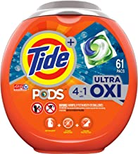Tide PODS 4 in 1 HE Turbo Laundry Detergent , 61 Pacs