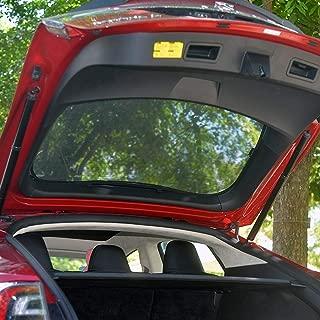 TeslaOwner Rear Liftgate Sunroof Sunshade, Skylight Blind Shading Net Sun protection Curtain for Model S