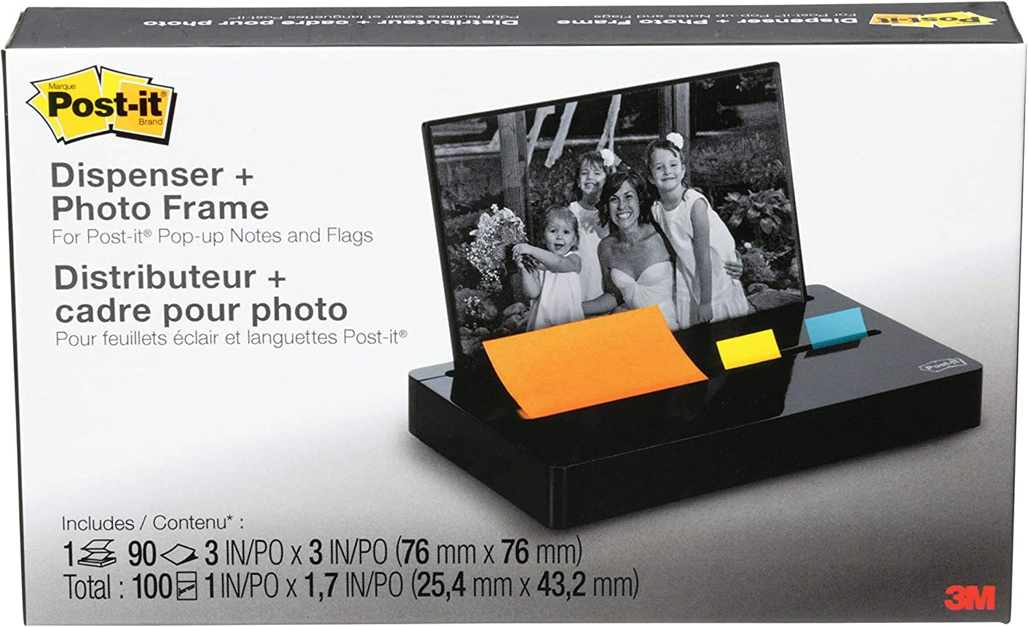 Post-it Pop-up Super sale Notes Note Flag Dispenser Frame wi Photo + Indianapolis Mall