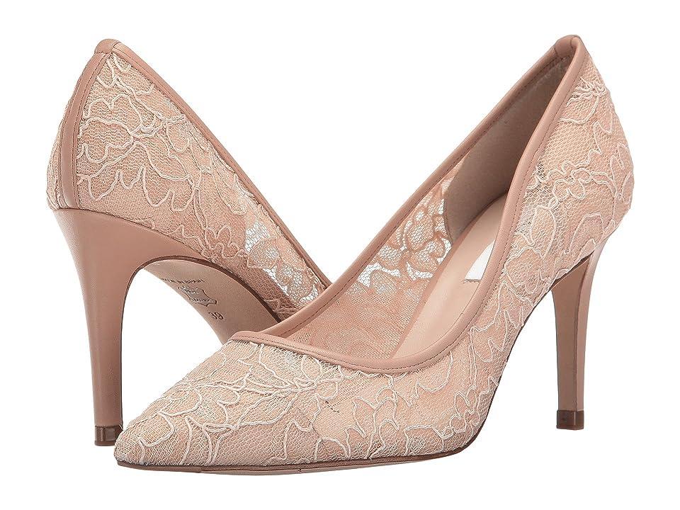 L.K. Bennett Floret (Marshmallow Lace Nappa) High Heels