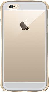 """SEIDIO TETRA Pro 极简透明背盖金属保护框,Gold 金,适用于 Apple iPhone 6 Plus - 5.5"""""""