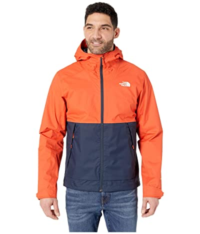 The North Face Millerton Jacket (Zion Orange/Urban Navy) Men