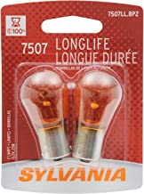 SYLVANIA 7507 Long Life Miniature Bulb (Contains 2 Bulbs)