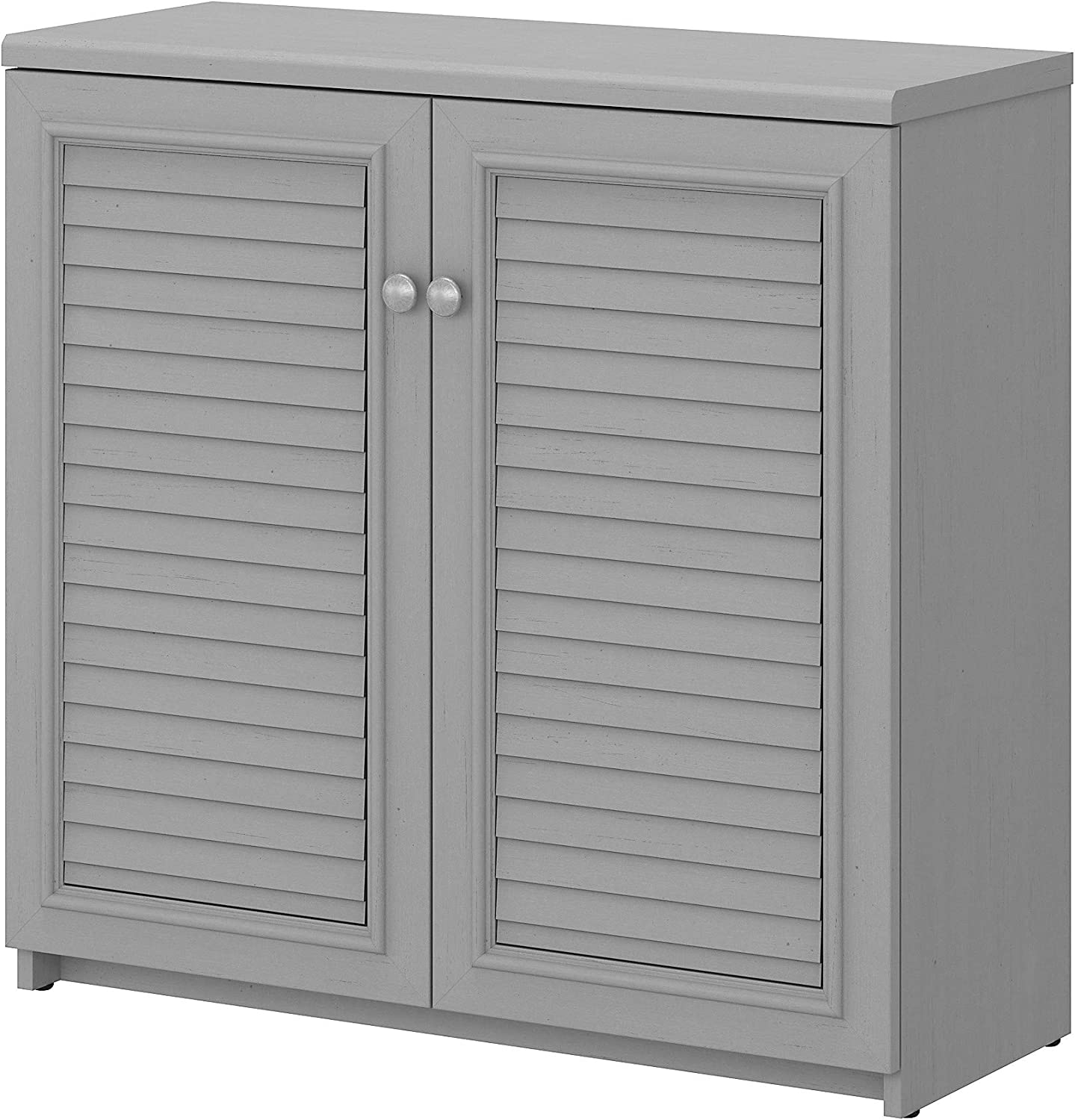Bush Furniture Fairview Max 74% Courier shipping free shipping OFF Small Storage and Cabinet She with Doors