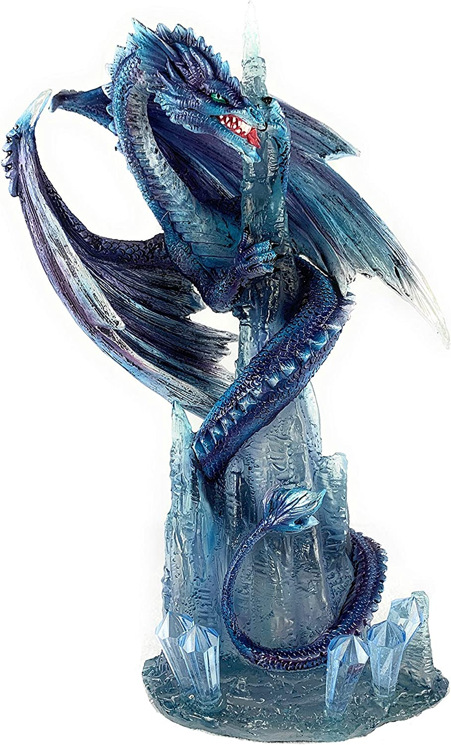 GSC Max 84% OFF Dragon Sea Serpent Blue Purple Around Wrapped Icicle with Max 75% OFF Cr