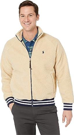 Vintage Sherpa Long Sleeve Knit