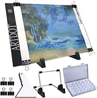 ARTDOT A4 LED Light Pad for Diamond Painting, USB Powered Light Board Kit, Adjustable..