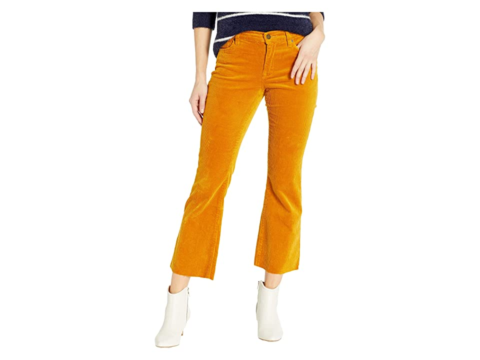 Blank NYC The Varick Corduroy Kick Flare Pants in Marigold (Marigold) Women