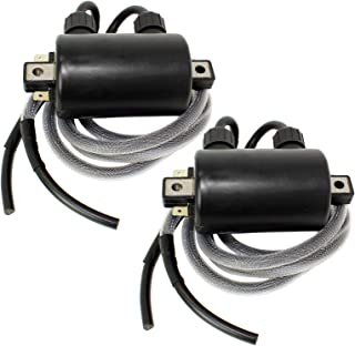 CALTRIC 2-PACK DOUBLE LINE IGNITION COIL Fits KAWASAKI VN1500 VN-1500 VULCAN 1500 1996-1999