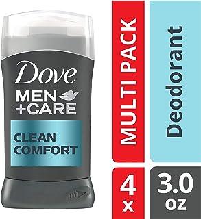 Dove Men+Care Deodorant Stick, Clean Comfort, 3 oz, 4 count
