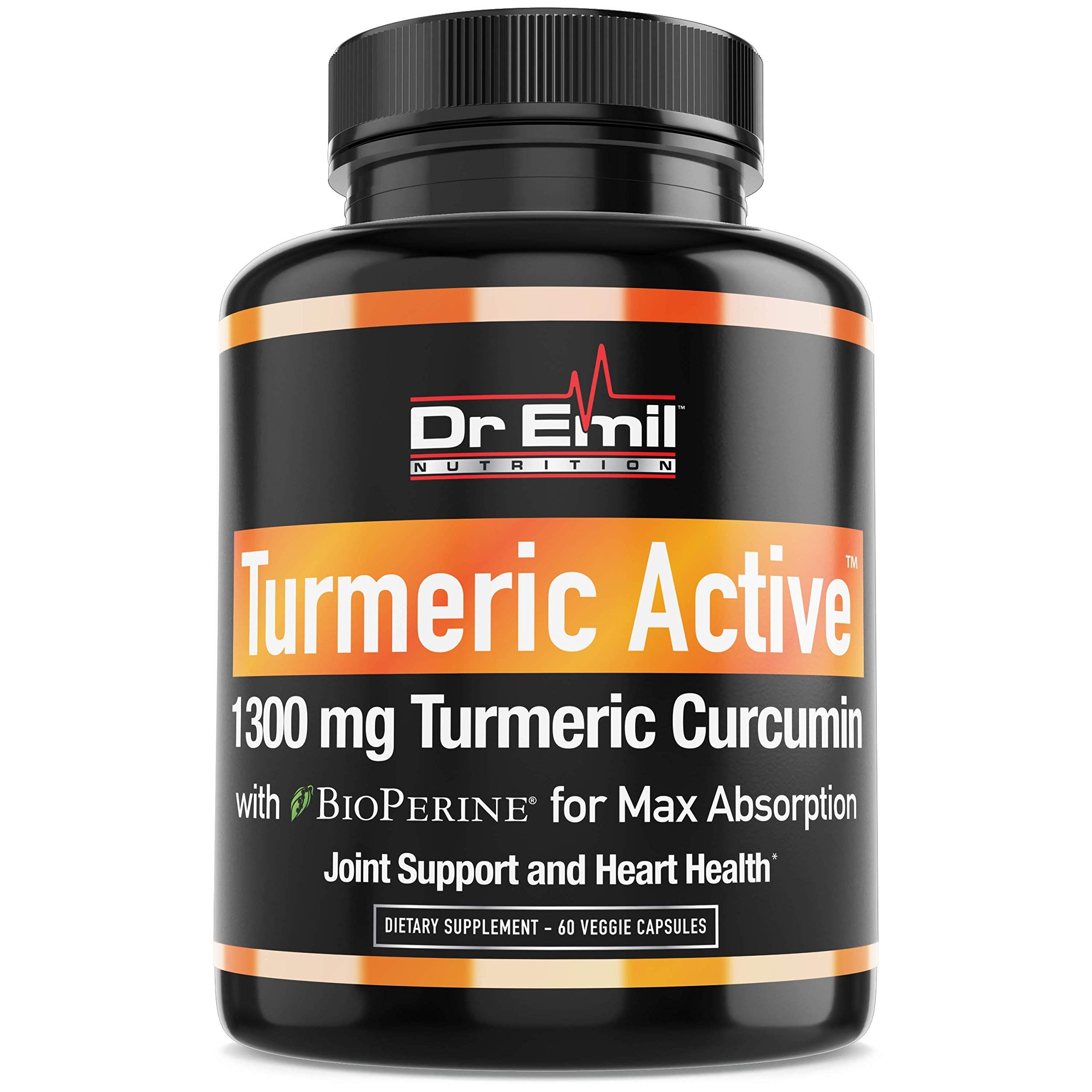 Cheap Organic Turmeric Curcumin with BioPerine (95% Curcuminoids - Max Potency) - Vegan Non-GMO Supplement for Joint Support Mobility and Pain Relief (60 Veggie Turmeric Capsules) Black Friday & Cyber Monday 2019