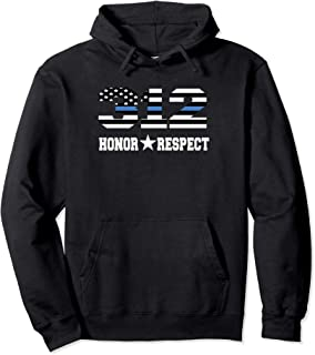 CPD Chicago Police Thin Blue Line Honor Respect THoodie