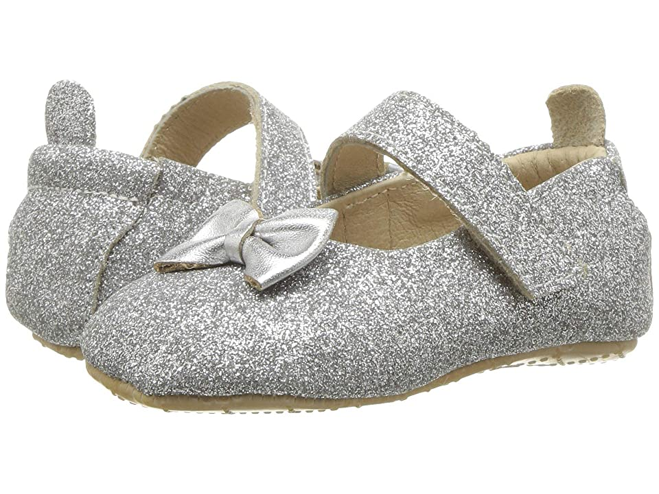 Old Soles Baby Glam (Infant/Toddler) (Glam Argent/Silver) Girl