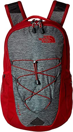 TNF Dark Grey Heather/Cardinal Red