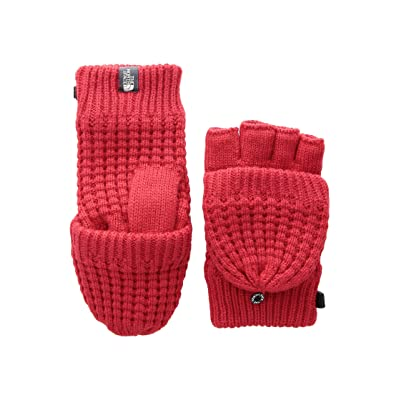 The North Face Kids Waffle Flip Mitt (Big Kids) (TNF Red) Ski Gloves