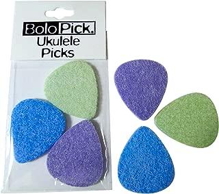 BoloPick Felt Pick for Ukulele 6 Pack (original recipe)