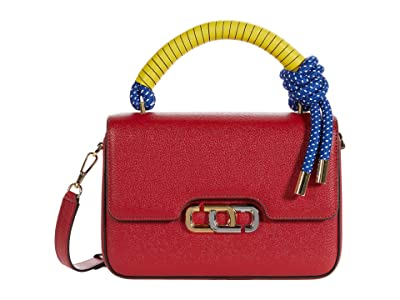 Marc Jacobs The J Link Twist Shoulder Bag (Lipstick Red) Handbags