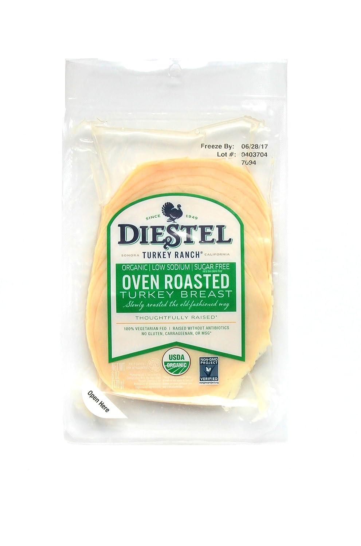 Diestel Turkey A surprise price is realized Organic Sliced 4 years warranty Oven Breast 6 Roast oz