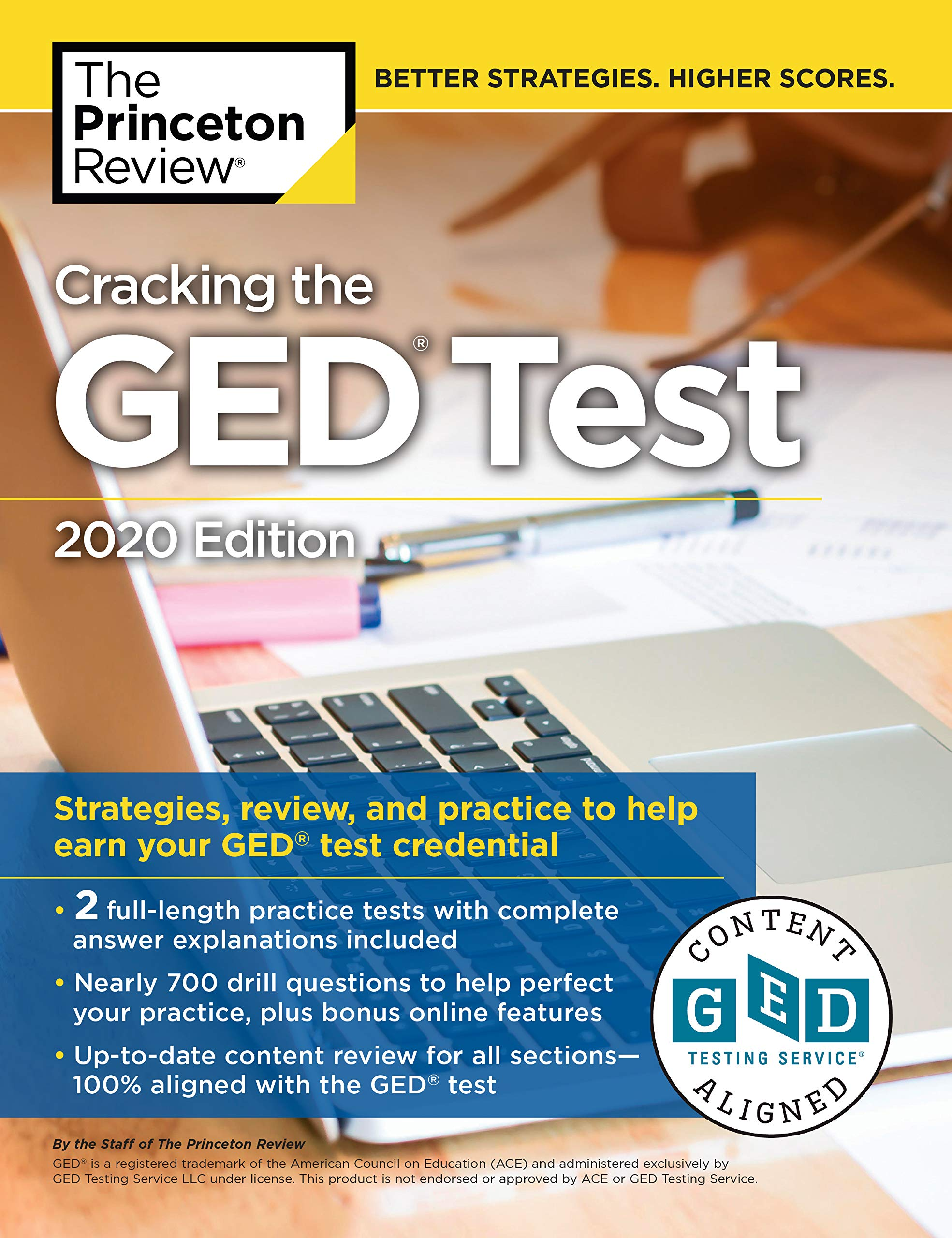 Cracking the GED Test with 2 Practice Tests, 2020 Edition: Strategies, Review, and Practice to Help Earn Your GED Test…