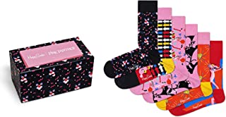 Happy Socks Unisex Pink Panther Collector Box Set (Set of 6 Pairs)