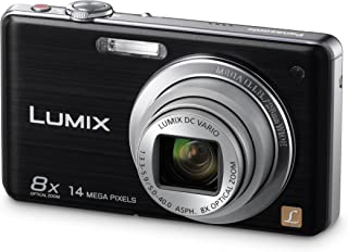 Panasonic LUMIX DMC-FS33EG-S - Cámara Digital (14 megapíxeles Zoom óptico 8X Pantalla de 762 cm estabilizador de Imagen) Color Negro