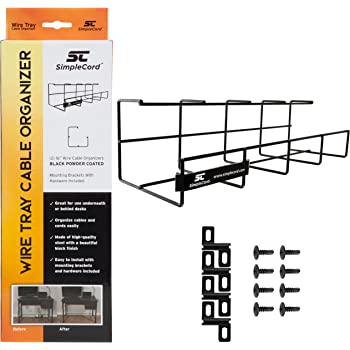 Data Centers 5 Metal D-Rings for Server Racks PrimeCables/® 1U 19 Inch Rackmount Cable Management Panel Audio Video Racks Stage Equipment and More Wire Organizer