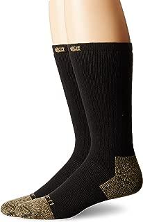 Men's 2 Pack Full Cushion Steel-Toe Cotton Work Boot Socks